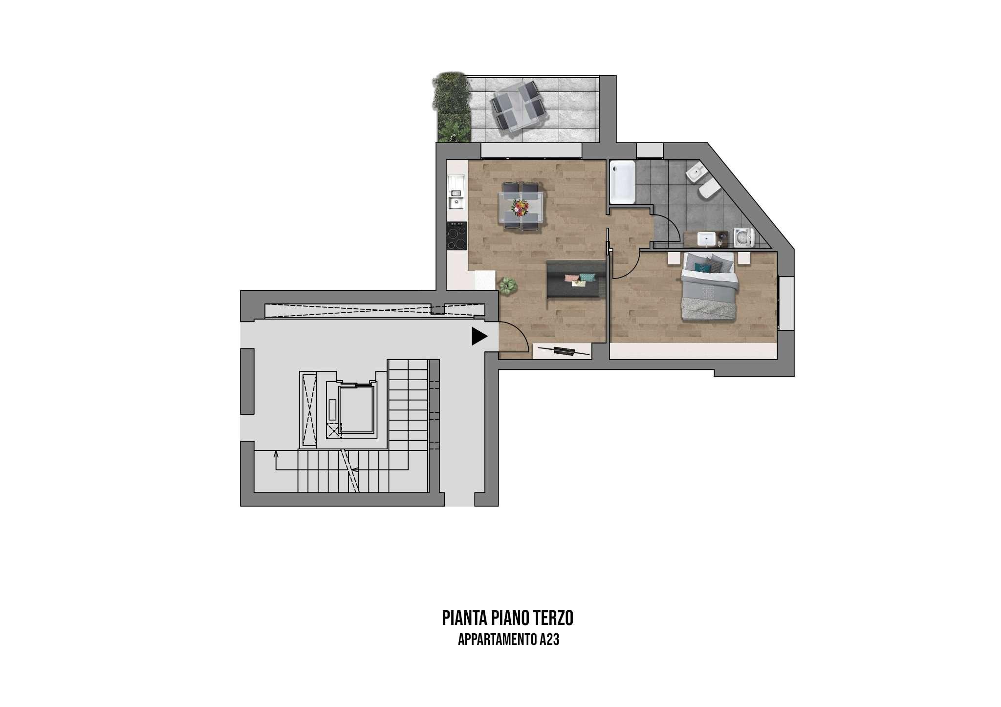 Appartamento in vendita a Casalecchio di Reno, 2 locali, prezzo € 245.000 | PortaleAgenzieImmobiliari.it