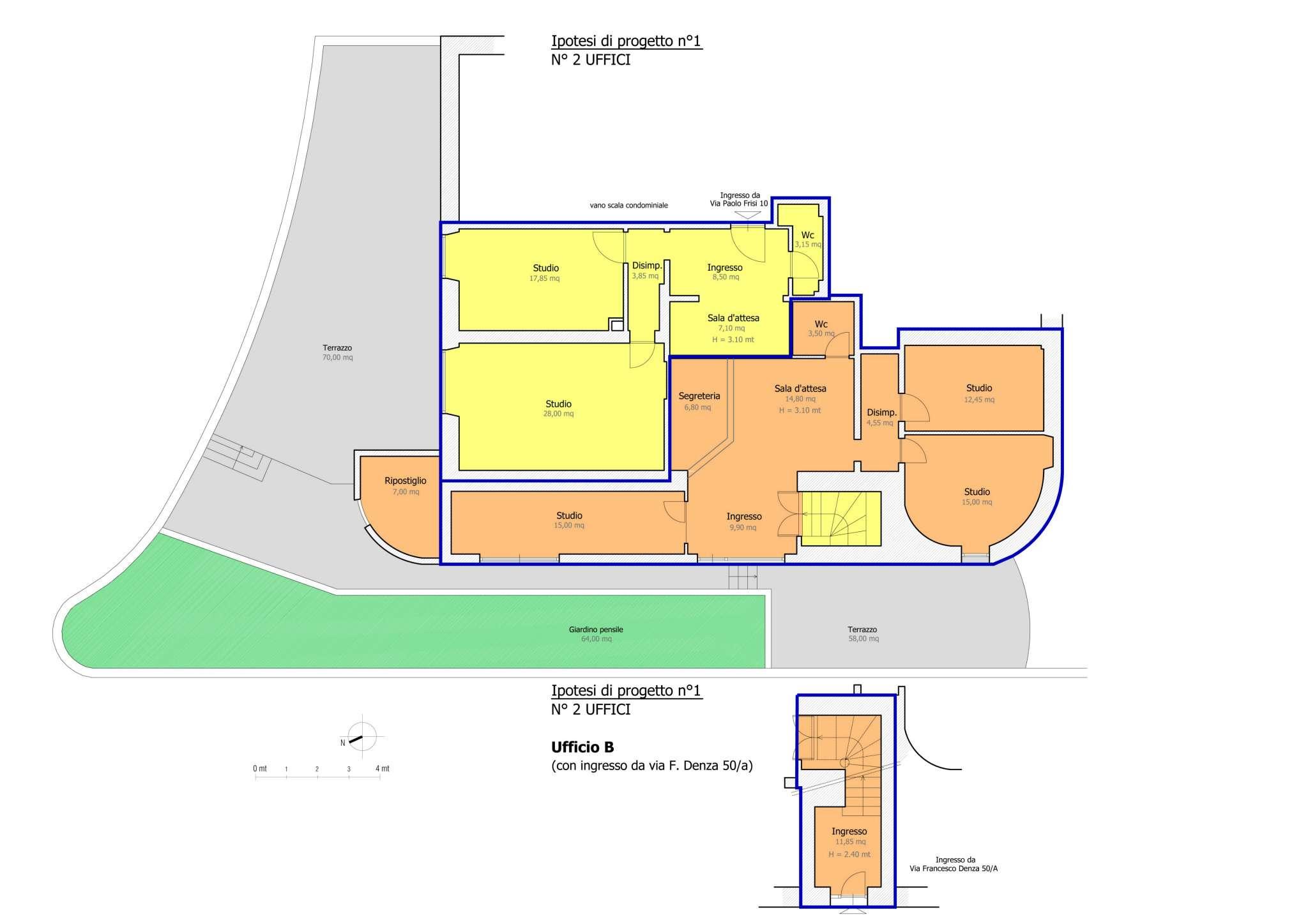 Ufficio / Studio in vendita a Roma, 7 locali, zona Zona: 2 . Flaminio, Parioli, Pinciano, Villa Borghese, prezzo € 945.000 | CambioCasa.it