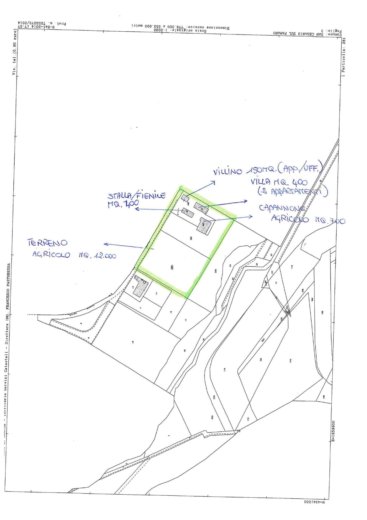 Terreno Agricolo in vendita a San Cesario sul Panaro, 9999 locali, prezzo € 390.000 | CambioCasa.it