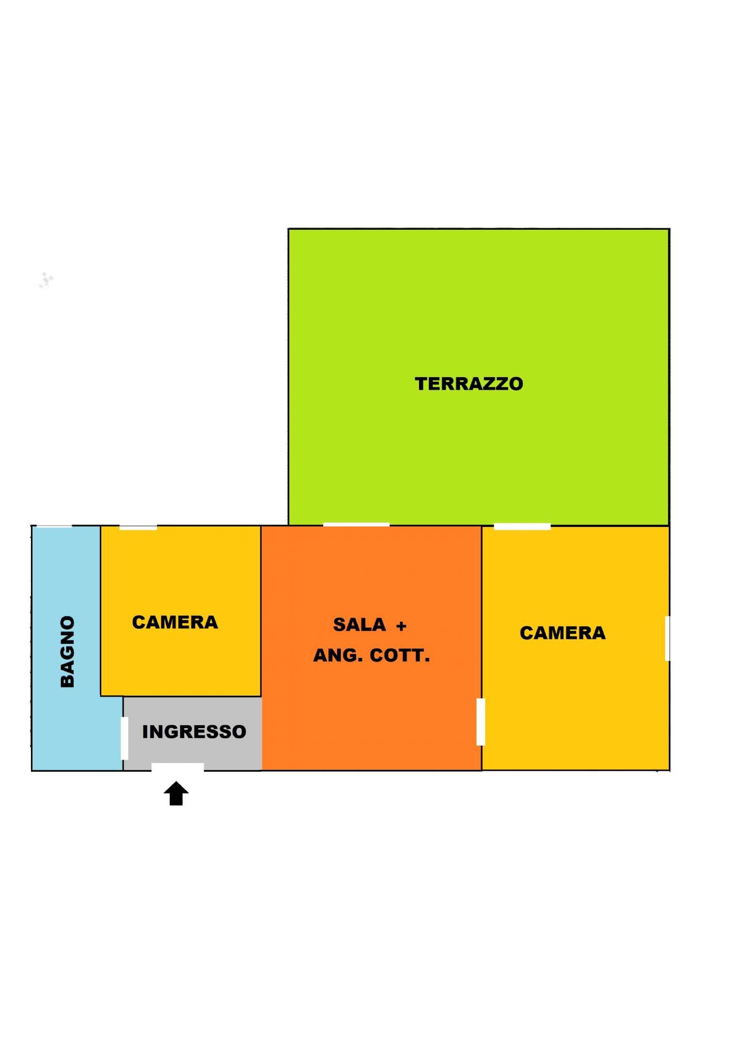 Appartamento in vendita a Modena, 3 locali, prezzo € 245.000 | PortaleAgenzieImmobiliari.it